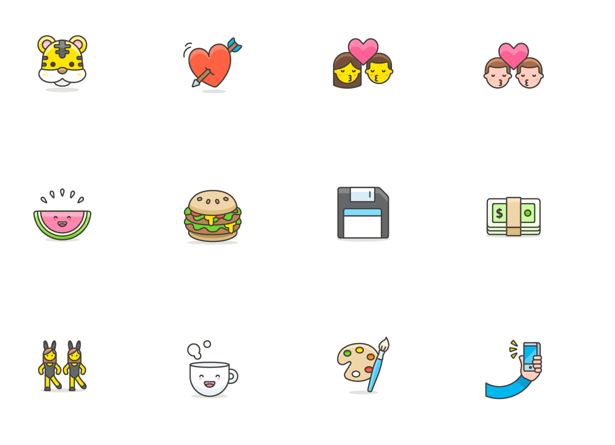 780 Free Emojis Graphic Design