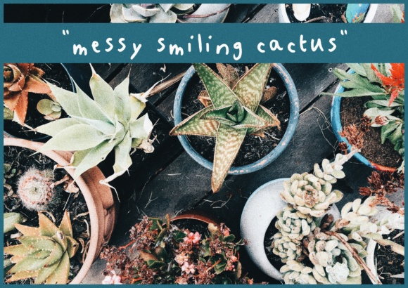 Messy Smiling Cactus Script & Handwritten Font By kaitalanis