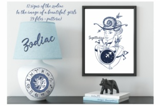 Zodiac Designs Graphic Illustrations By grigaola