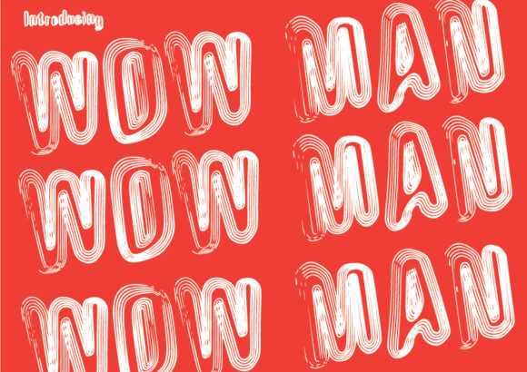 Print on Demand: Wow Man Sans Serif Font By GraphicsBam Fonts