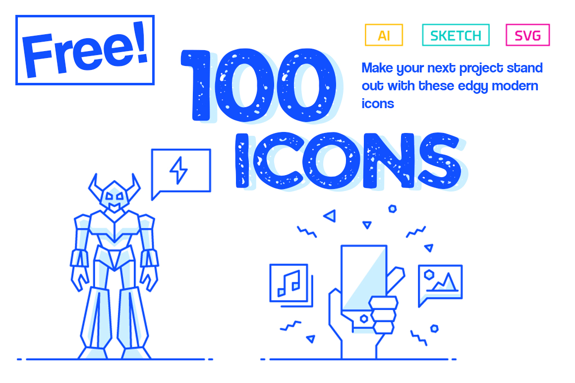 100 Free Icons Graphic Icons By Creative Fabrica Freebies