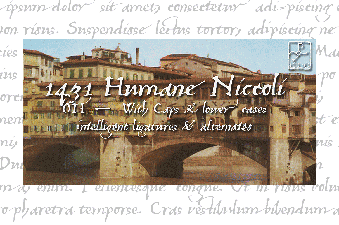 Print on Demand: 1431 Humane Niccoli Serif Font By GLC Foundry