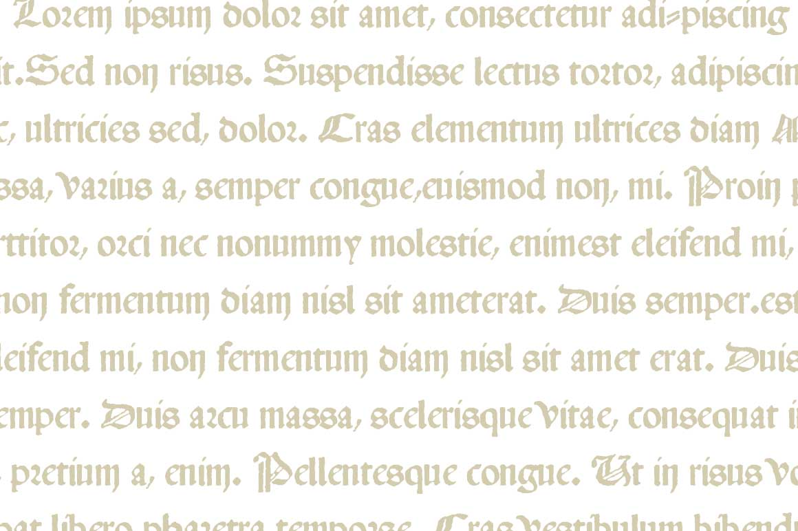 Print on Demand: 1483 Rotunda Lyon Blackletter Font By GLC Foundry - Image 2