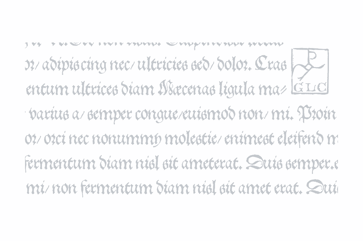 Print on Demand: 1543 German Deluxe Family Blackletter Font By GLC Foundry - Image 3