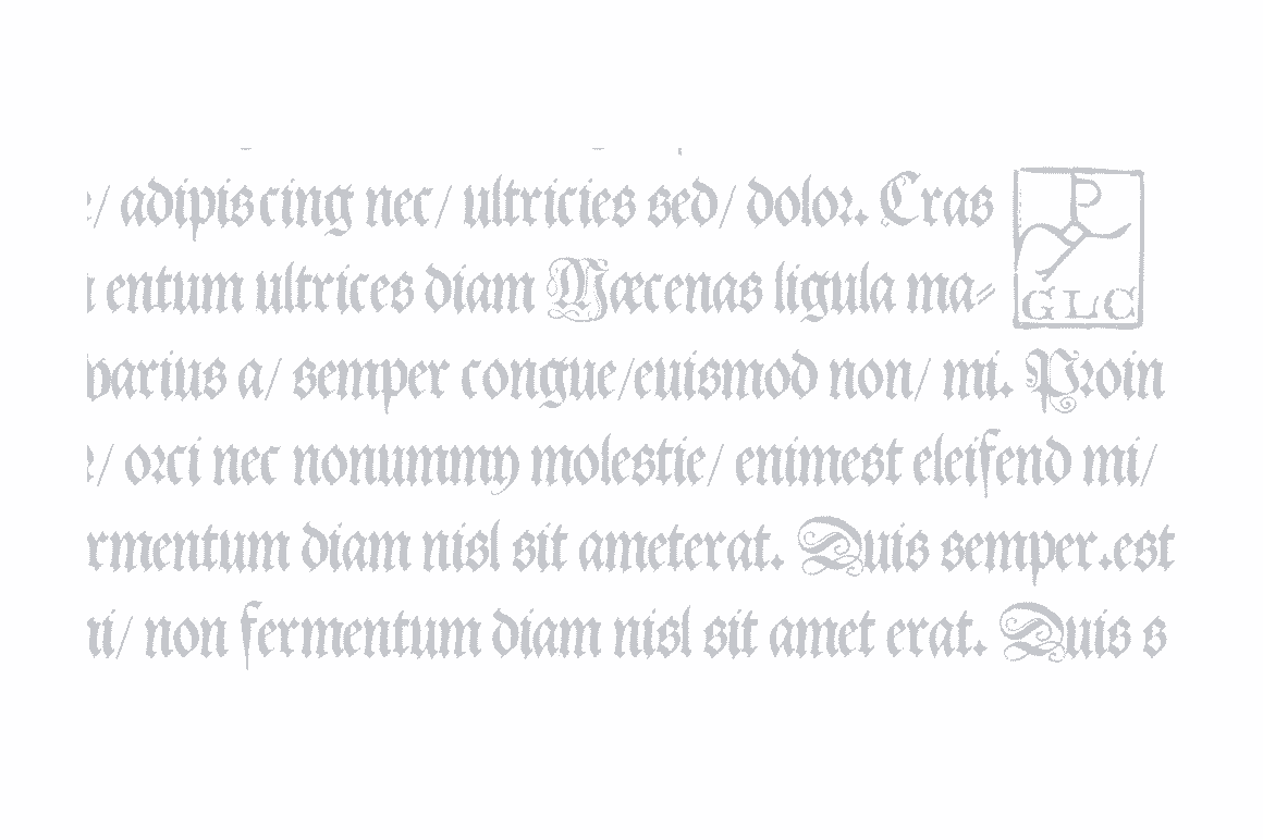 Print on Demand: 1543 German Deluxe Blackletter Font By GLC Foundry - Image 4
