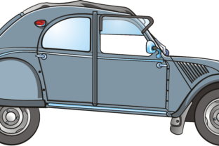2 CV Citroën Graphic By fray06100