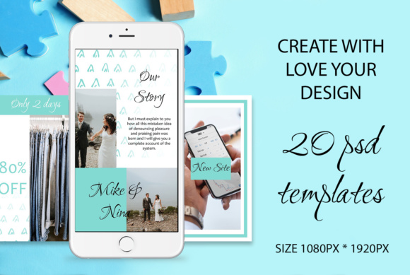 20 ANIMATED Instagram Stories Graphic By tregubova.jul Image 3