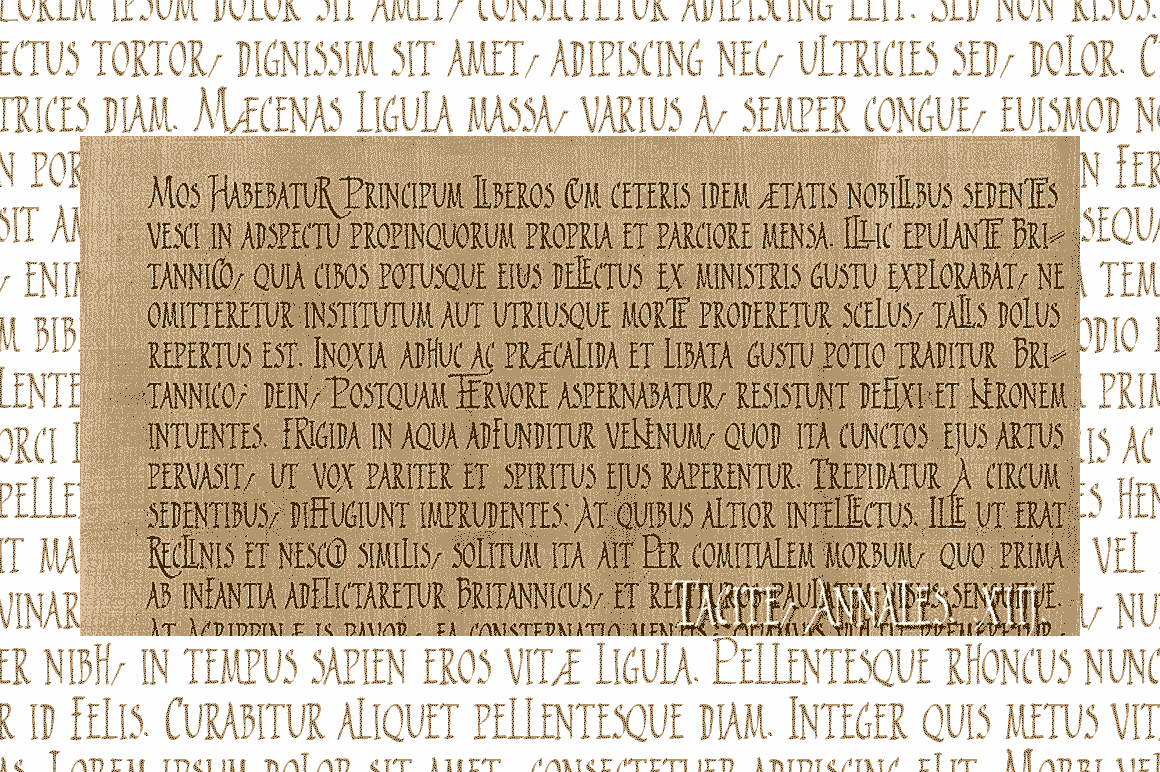 Print on Demand: 2009 Primitive Script & Handwritten Font By GLC Foundry - Image 2
