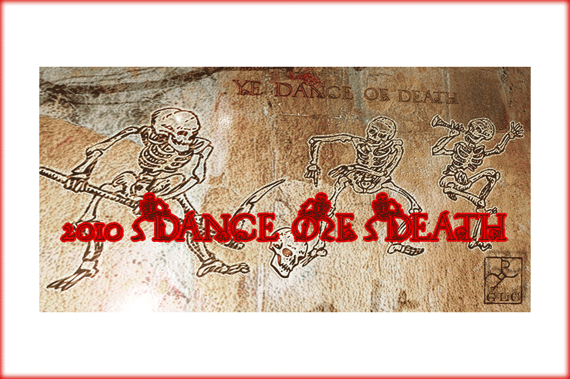 2010 Dance of Death Font By GLC Foundry