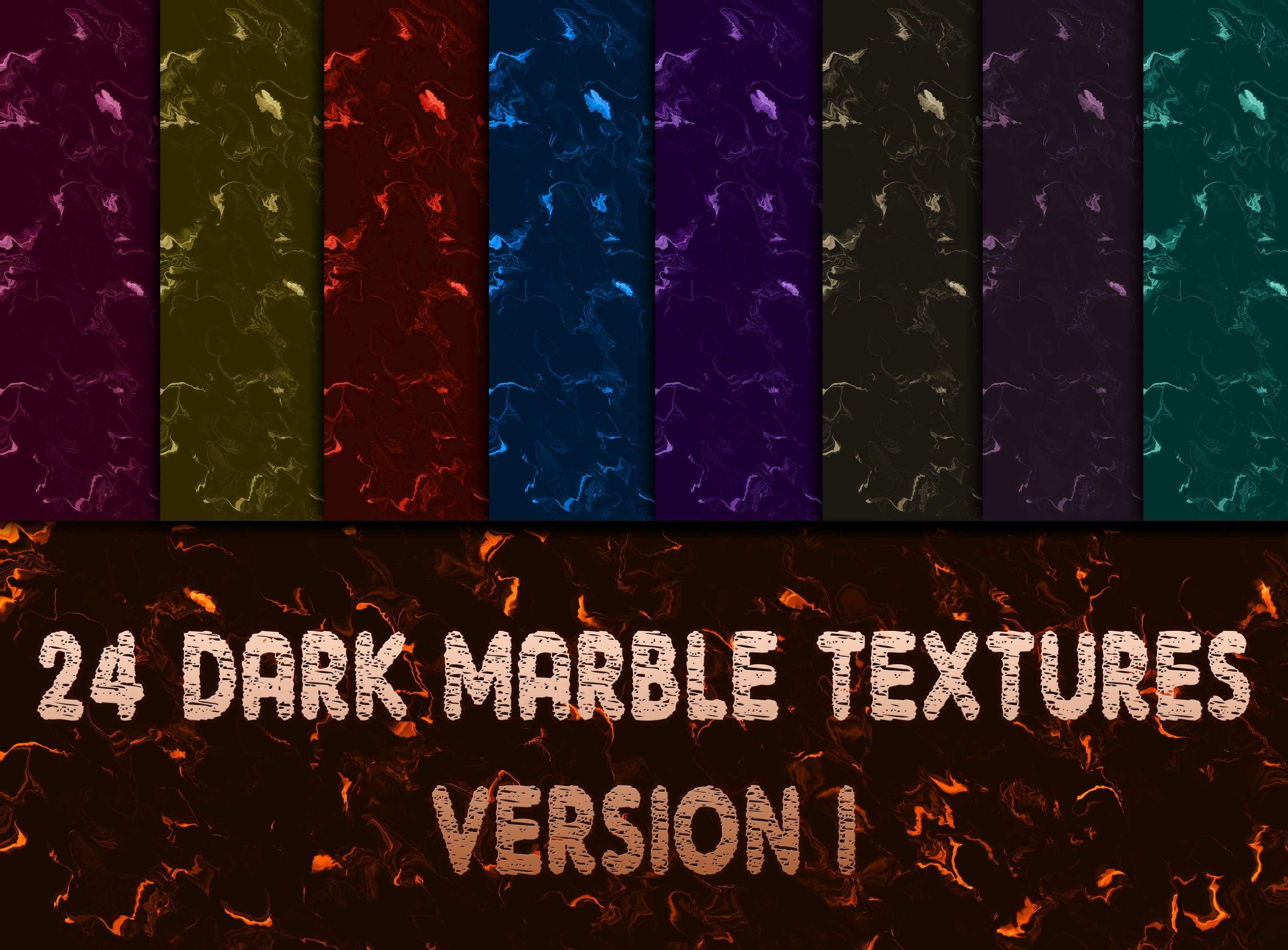 24 Digital Dark Marble Textures Graphic Backgrounds By vessto