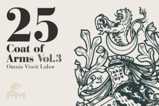 Print on Demand: 25 Coat of Arms - Vol.3 Graphic Illustrations By pfmartini
