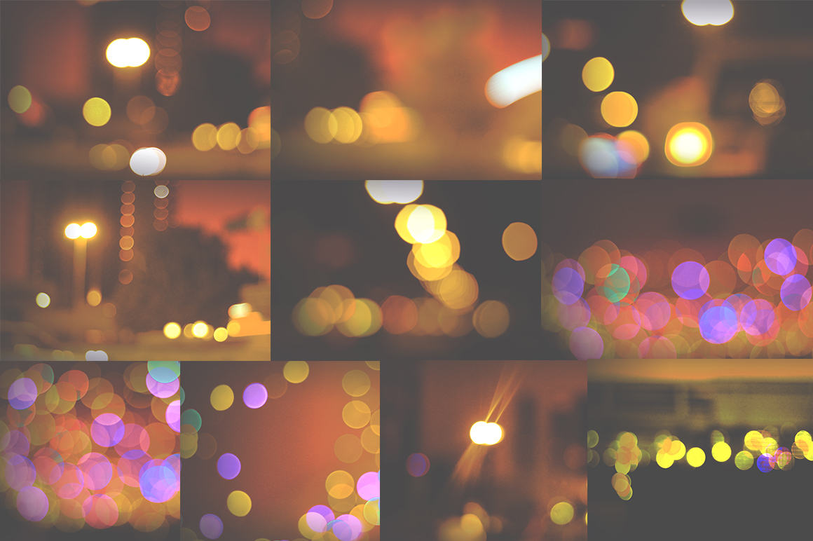 50 Bokeh Textures Graphic Textures By Najla Qamber - Image 2