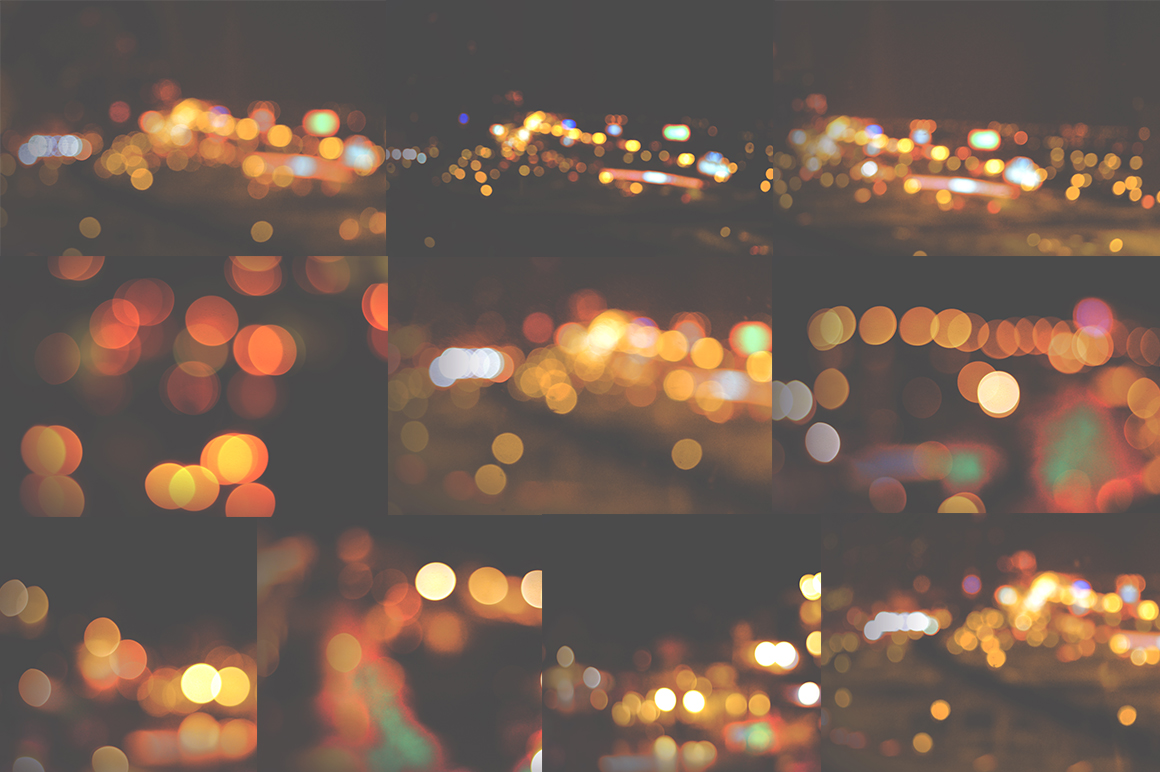 50 Bokeh Textures Graphic Textures By Najla Qamber - Image 4