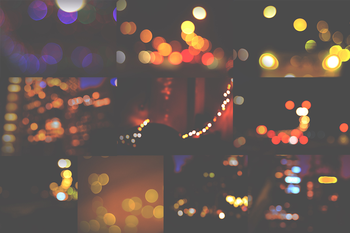 50 Bokeh Textures Graphic Textures By Najla Qamber - Image 6