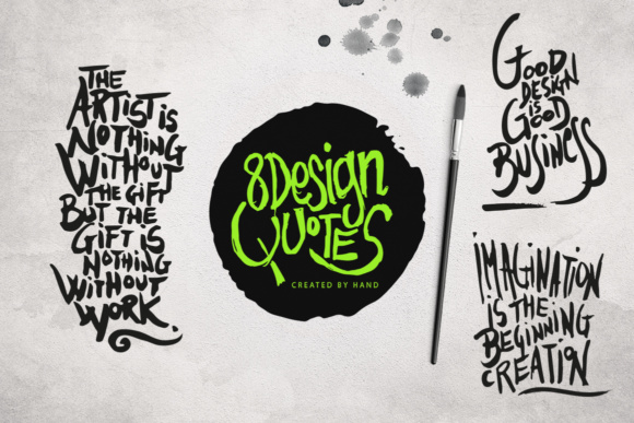 8 Design Quotes Graphic Illustrations By SmartDesigns
