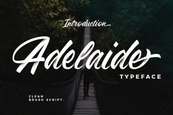 Print on Demand: Adelaide Script & Handwritten Font By Moovied Co.