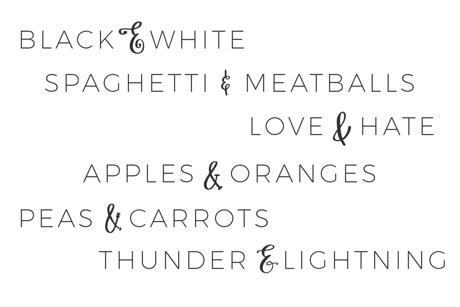 Print on Demand: Ampersand Mania Dingbats Font By BeckMcCormick - Image 3