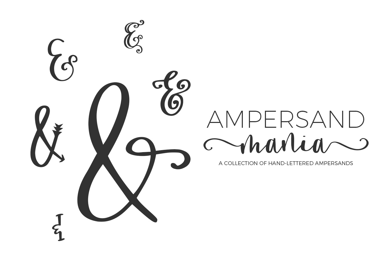 Print on Demand: Ampersand Mania Dingbats Font By BeckMcCormick