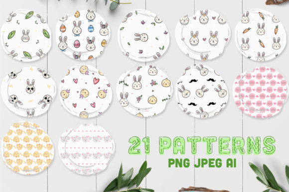 Print on Demand: Animalitos BUNDLE, +170 Elements! Graphic Illustrations By Latin Vibes - Image 2
