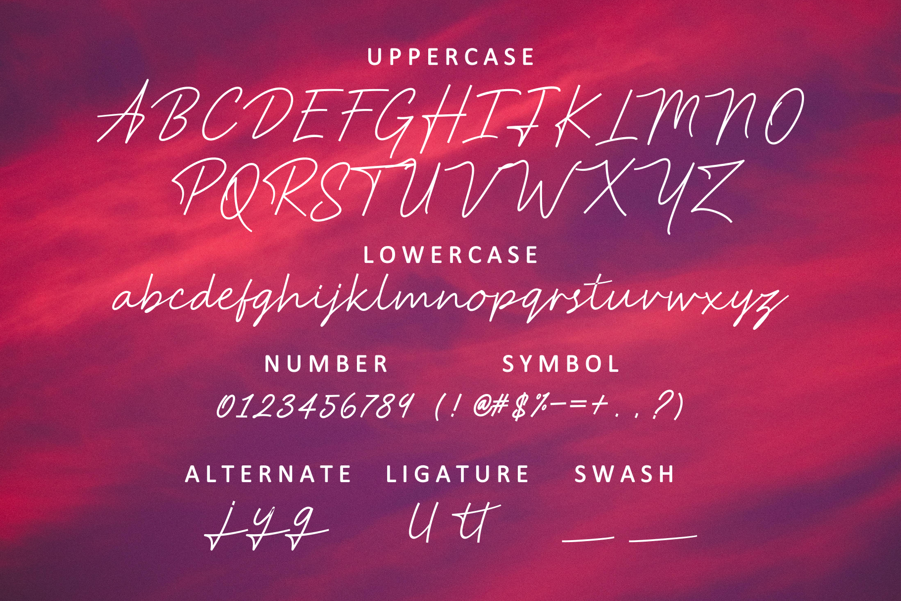 Print on Demand: Anstery Script & Handwritten Font By windestrian - Image 4