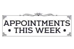Appointments This Week Craft Design By Creative Fabrica Crafts