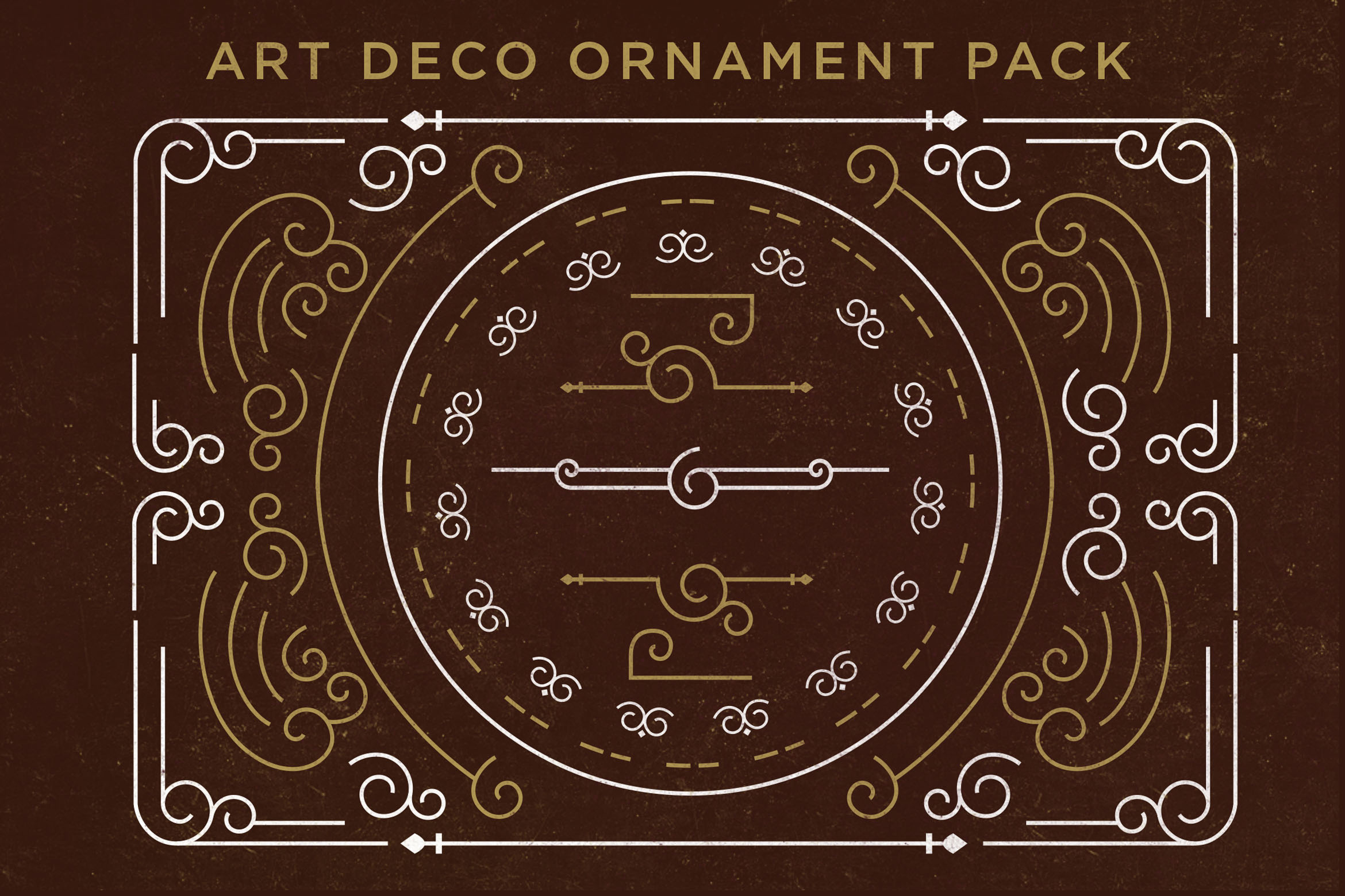 Art Deco Ornament Pack Graphic Objects By storictype - Image 1