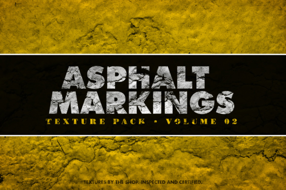 Asphalt Markings Textures Volume 02 Graphic Textures By theshopdesignstudio