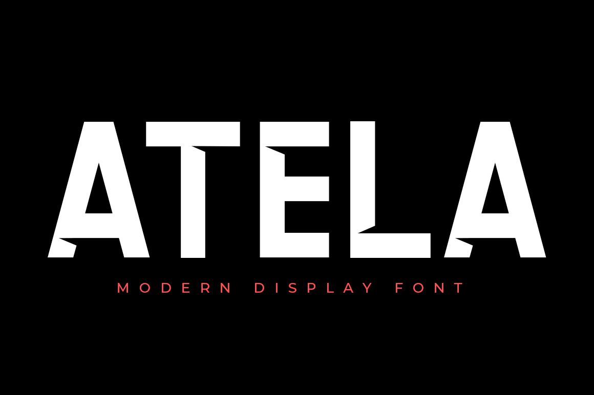 Print on Demand: Atela Sans Serif Font By Eldertype Studio