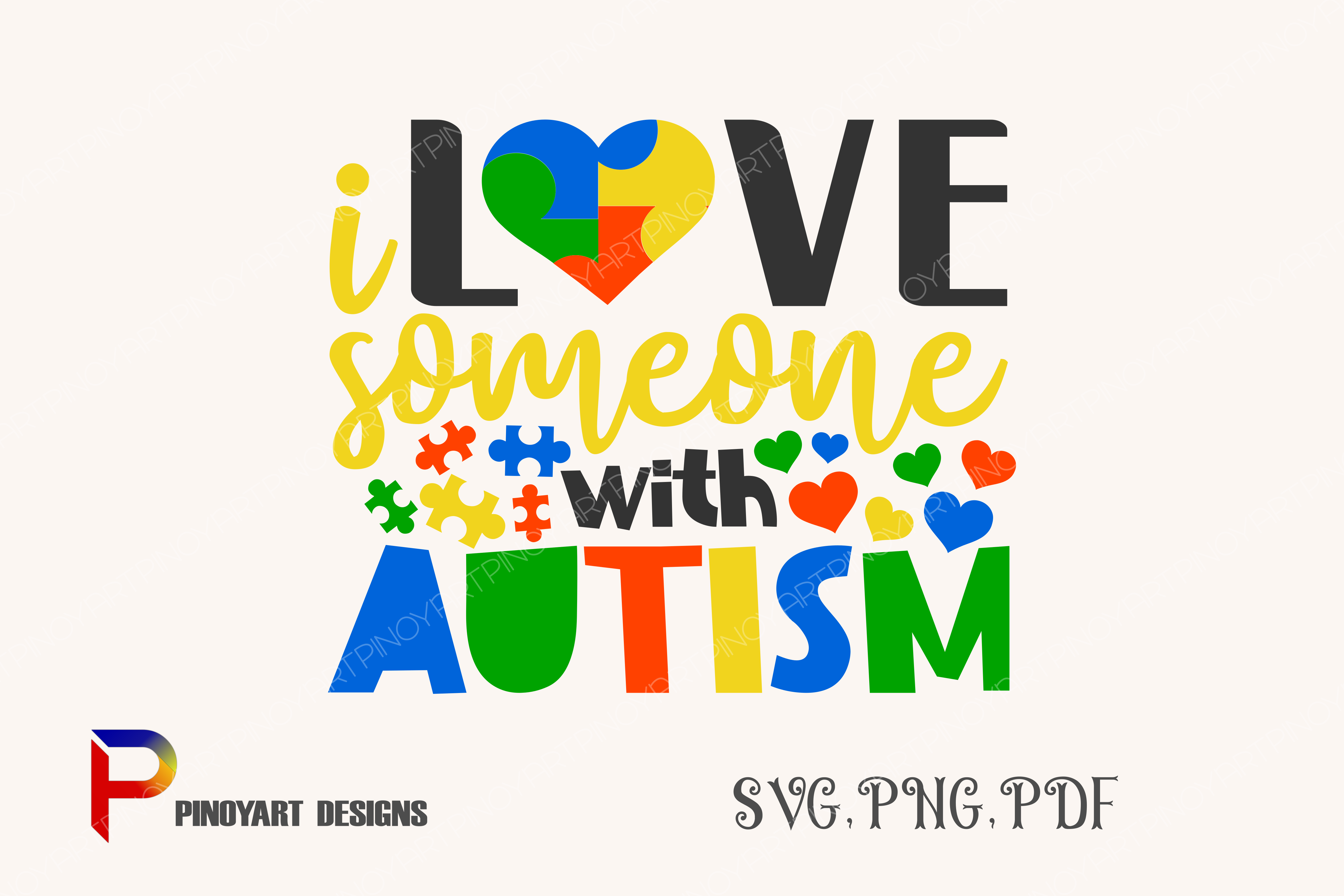 Download Free Autism Graphic By Pinoyartkreatib Creative Fabrica for Cricut Explore, Silhouette and other cutting machines.