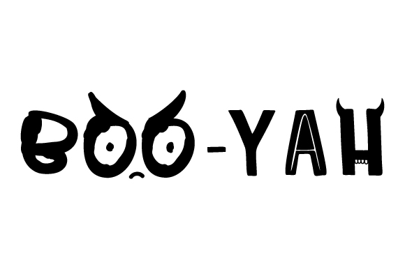 BOO-yah Craft Design By Creative Fabrica Crafts Image 1