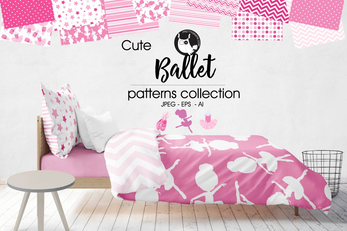 Print on Demand: Ballet Graphic Patterns By Prettygrafik