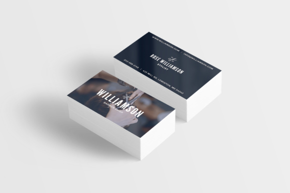 Barber Shop Business Card Graphic By Awesome Templates Creative