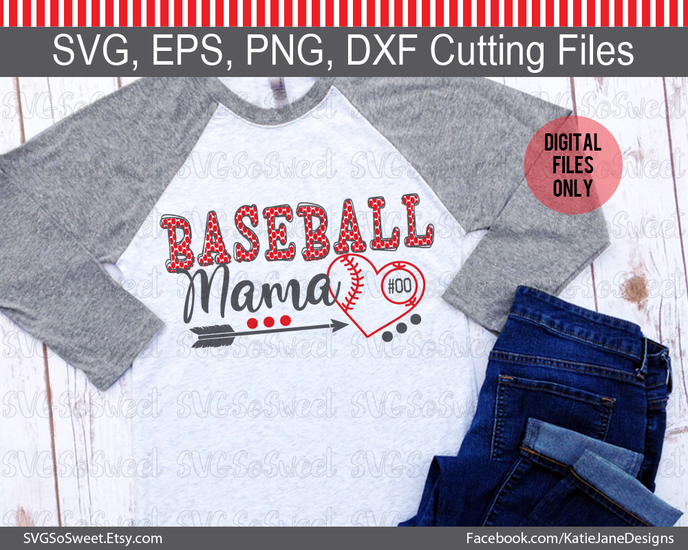 Baseball Mom SVG Graphic Crafts By Southern Belle Graphics - Image 2