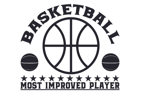 Download Free Basketball Most Improved Player Svg Cut File By Creative Fabrica for Cricut Explore, Silhouette and other cutting machines.
