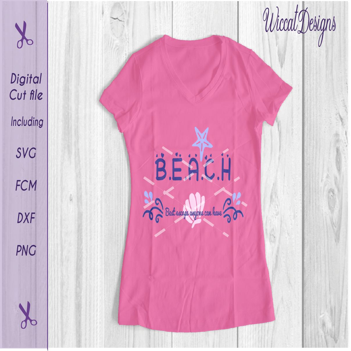 Download Free Beach Quote Graphic By Wiccatdesigns Creative Fabrica for Cricut Explore, Silhouette and other cutting machines.