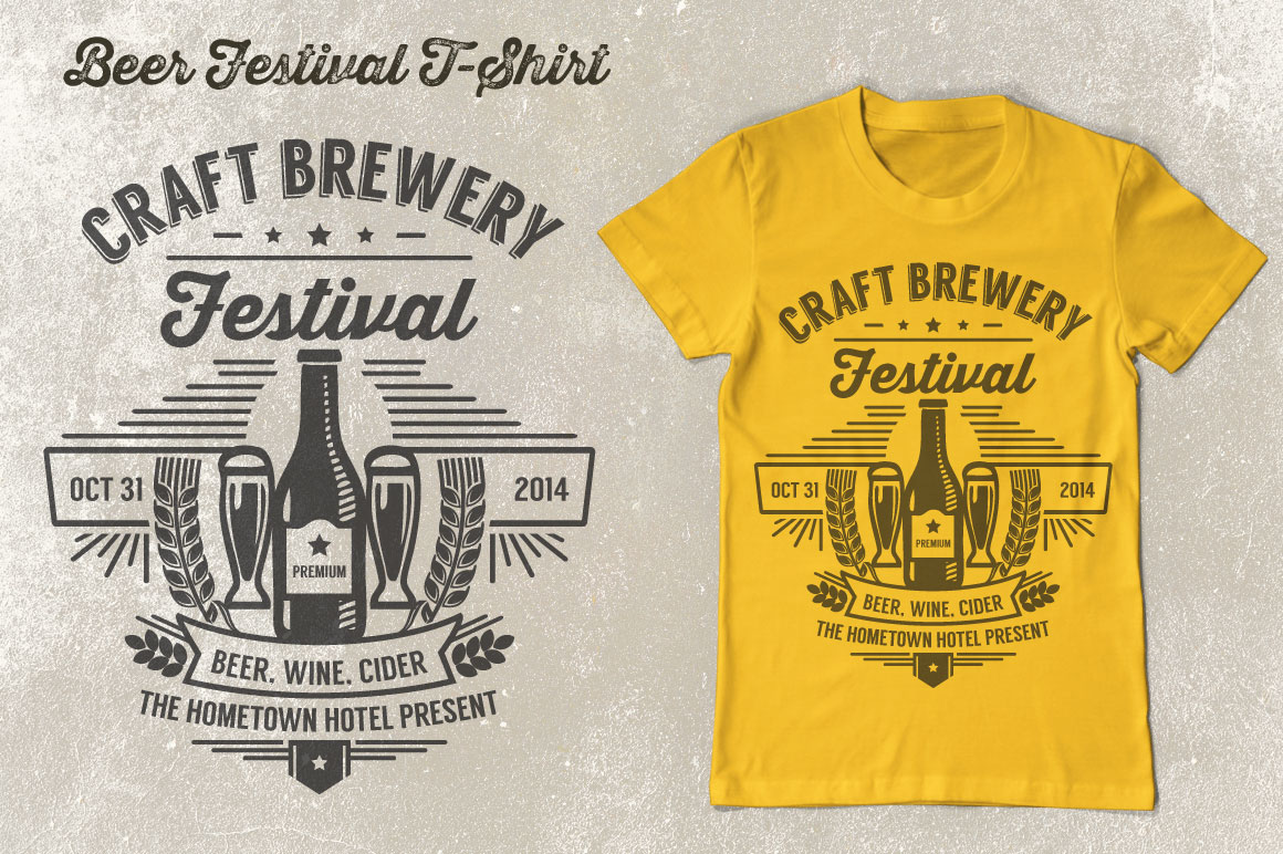 Print on Demand: Beer Festival T-Shirt Vol. 2 Graphic Print Templates By Tiar Prayoga - Image 2