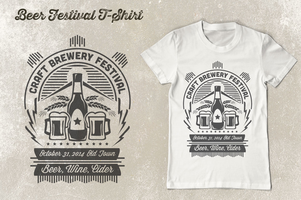 Print on Demand: Beer Festival T-Shirt Vol. 2 Graphic Print Templates By Tiar Prayoga - Image 4
