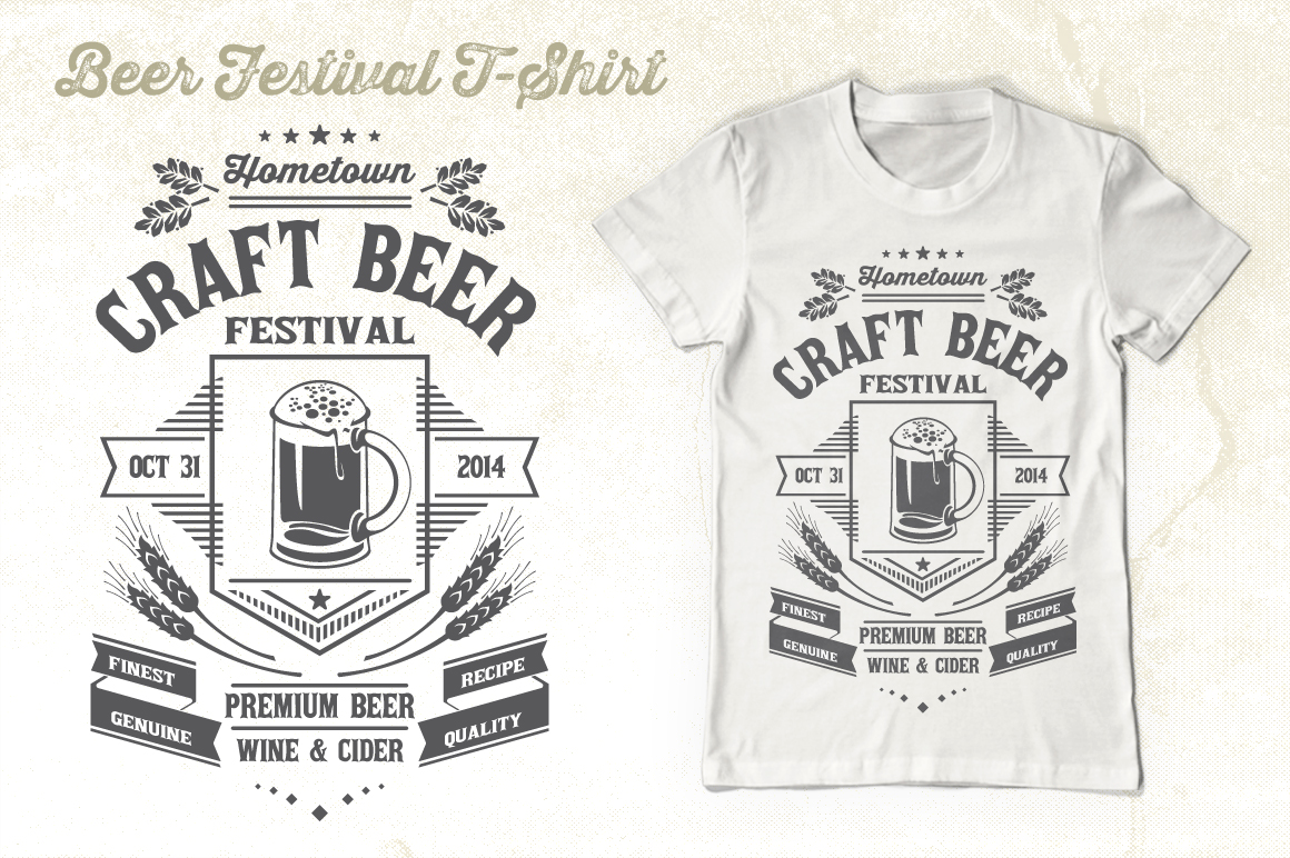 Beer Festival T-Shirt Graphic By Tiar Prayoga Image 3