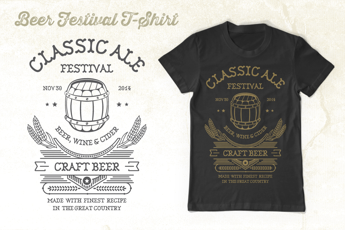 Beer Festival T-Shirt Graphic By Tiar Prayoga Image 4