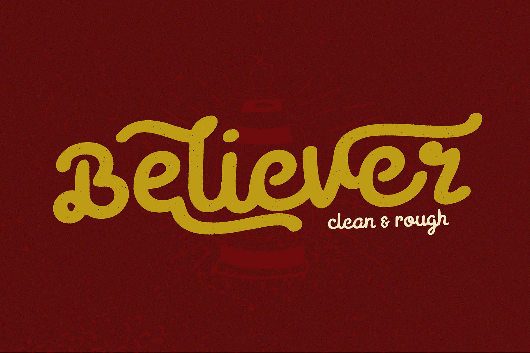 Print on Demand: Believer Display Font By Viaction Type.Co