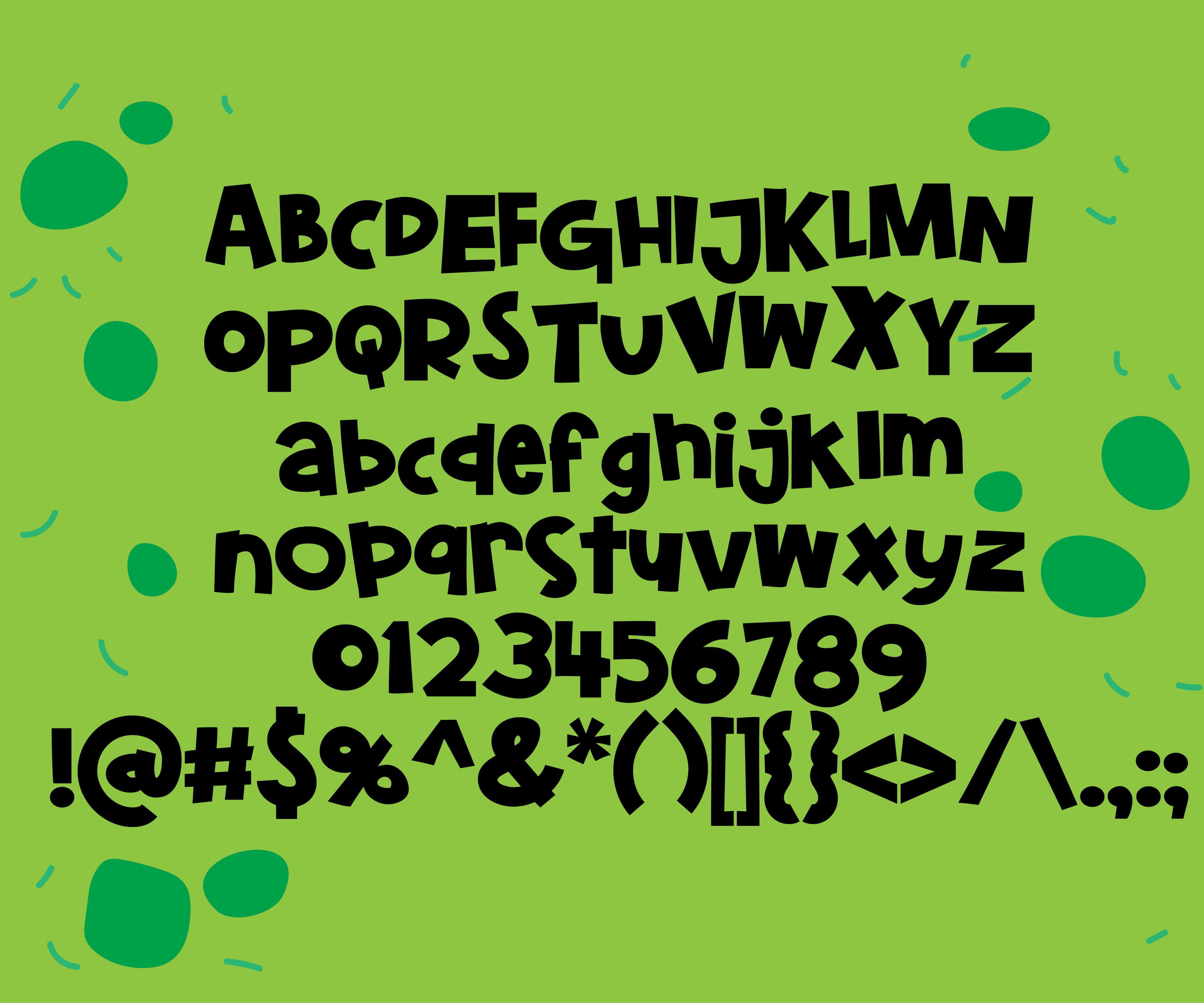 Print on Demand: Belly Laughs Display Font By Illustration Ink - Image 3