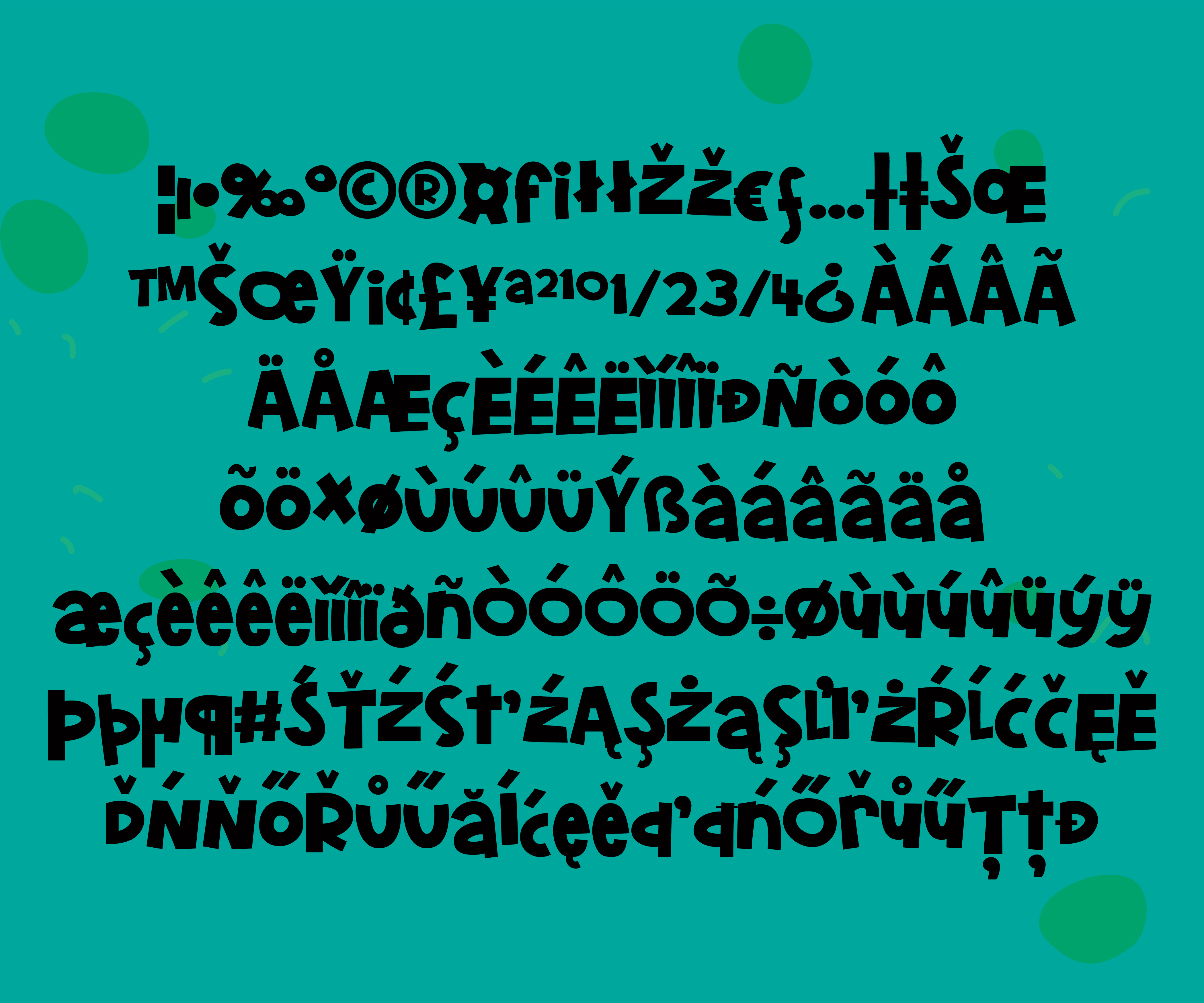 Print on Demand: Belly Laughs Display Font By Illustration Ink - Image 4