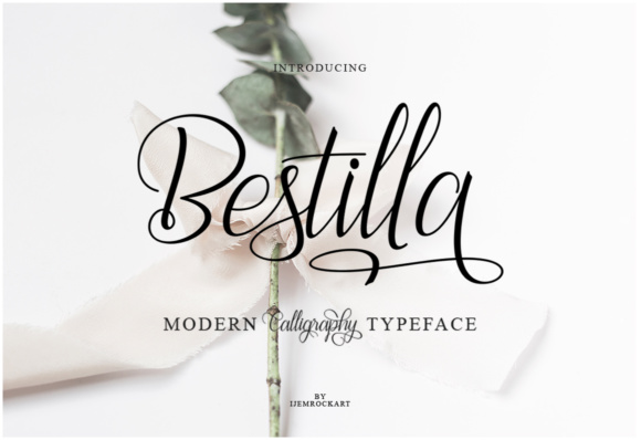 Print on Demand: Bestilla Script & Handwritten Font By Ijem RockArt