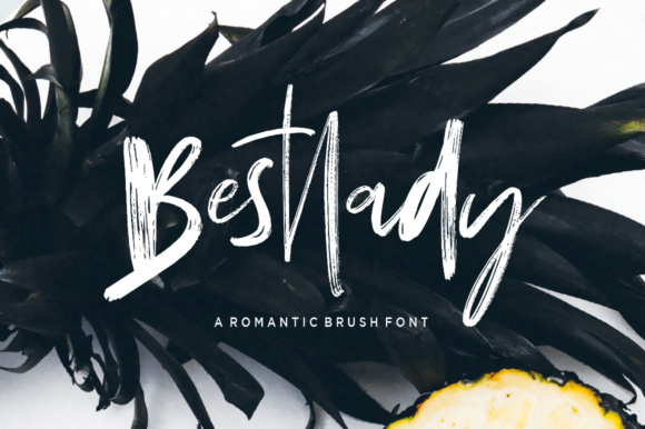 Print on Demand: Bestlady Script & Handwritten Font By Dhan Studio