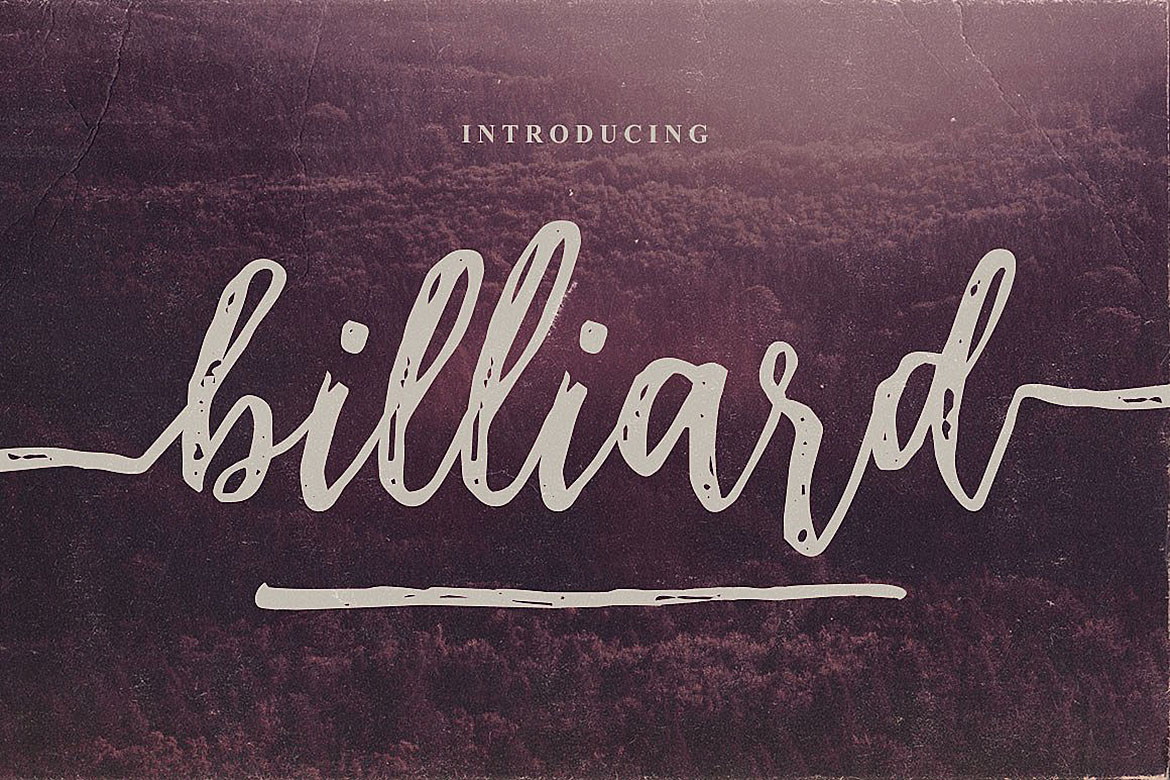 Download Free Billiard Font Duo Font By Jumbodesign Creative Fabrica for Cricut Explore, Silhouette and other cutting machines.