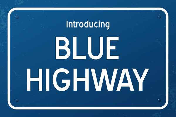 Blue Highway Font By Typodermic