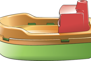 Boat – Toy Graphic By fray06100