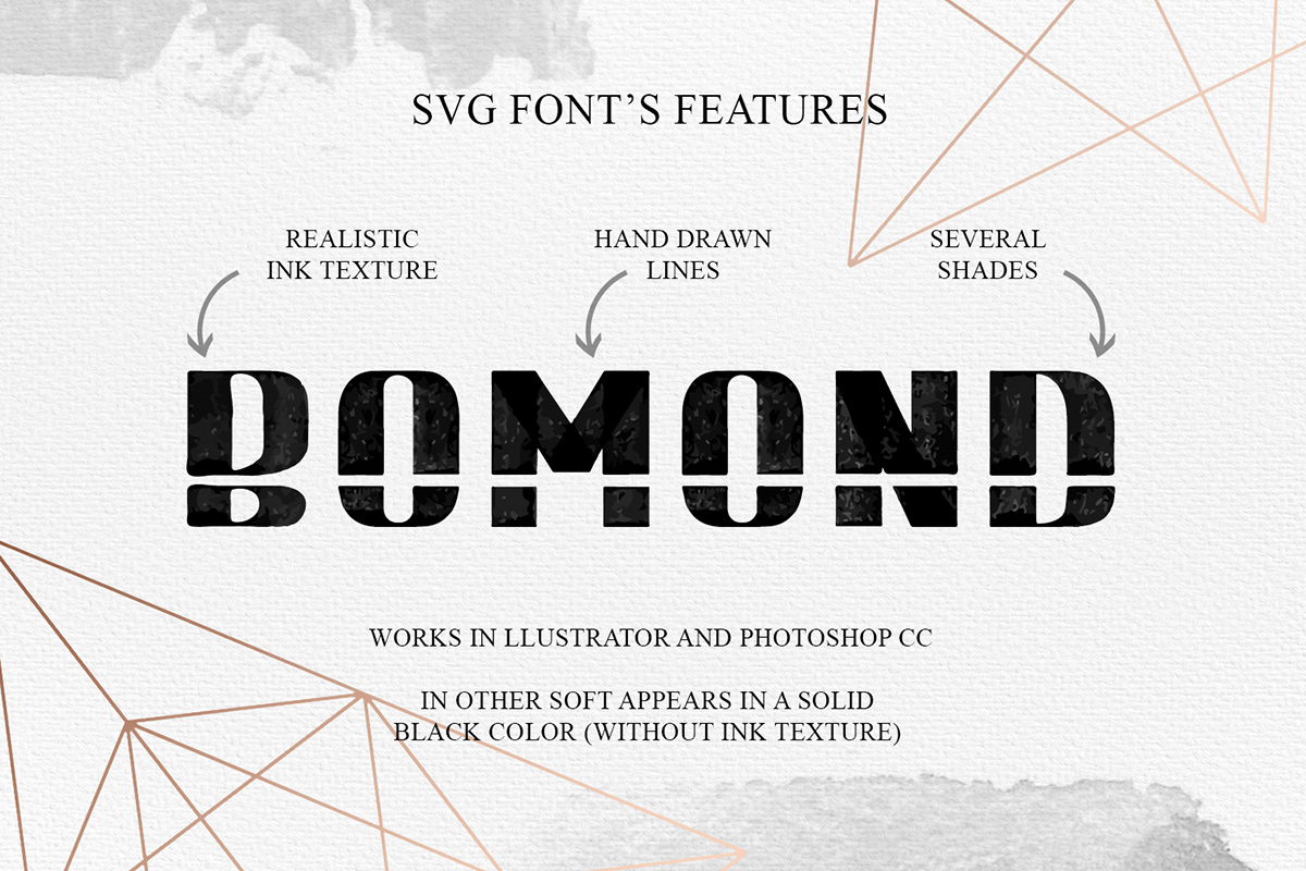Print on Demand: Bomond Display Font By Cosmic Store - Image 6
