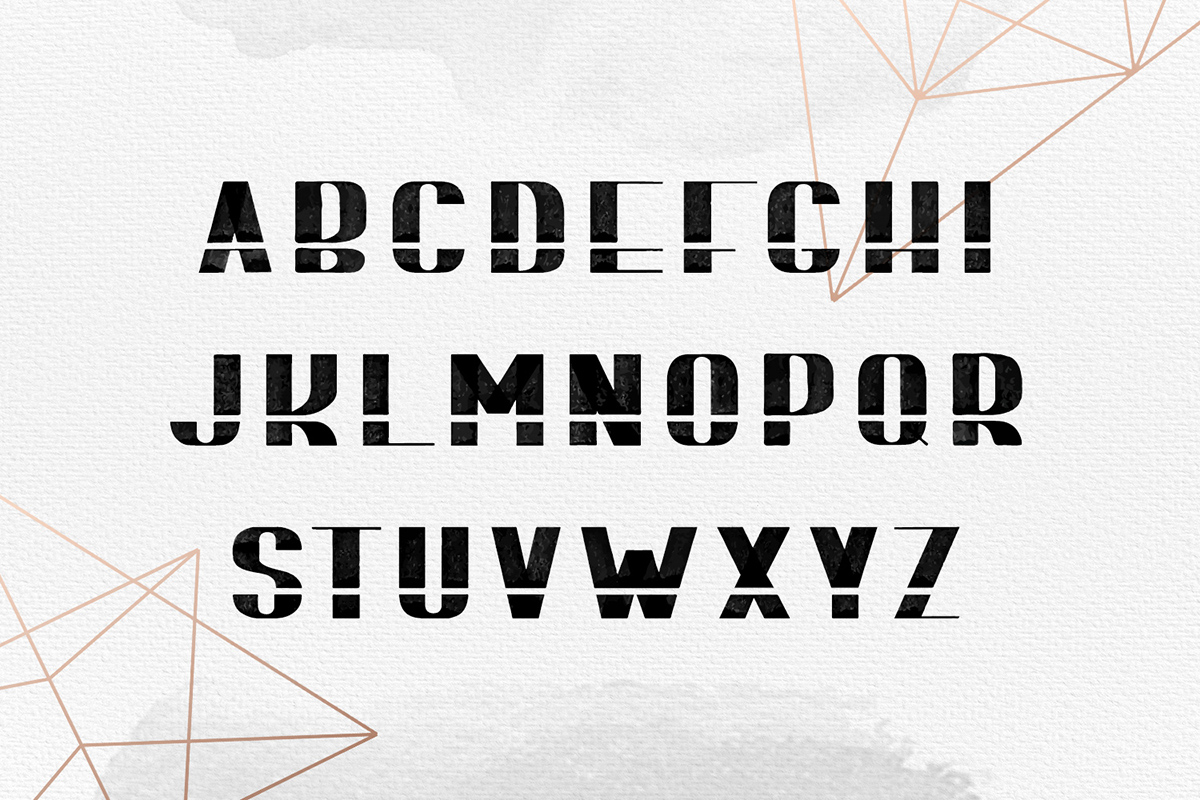 Print on Demand: Bomond Display Font By Cosmic Store - Image 7