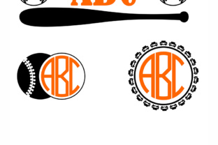 Download Free Boys Baseball Frames Monograms Svg Kids Vector Graphic By for Cricut Explore, Silhouette and other cutting machines.